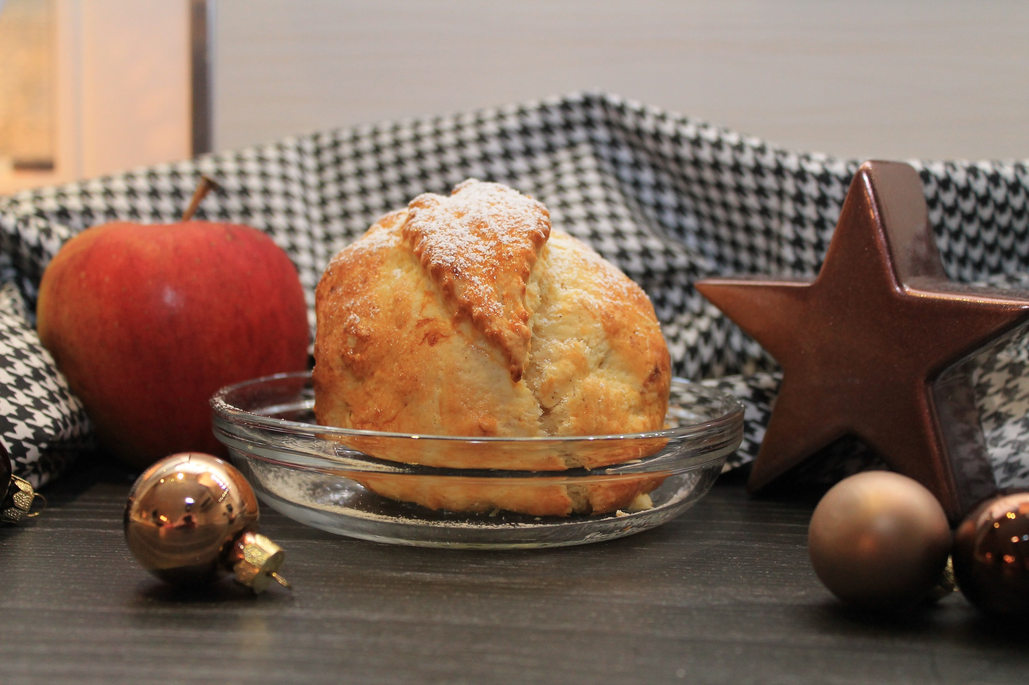 Bratapfel ohne Nuss