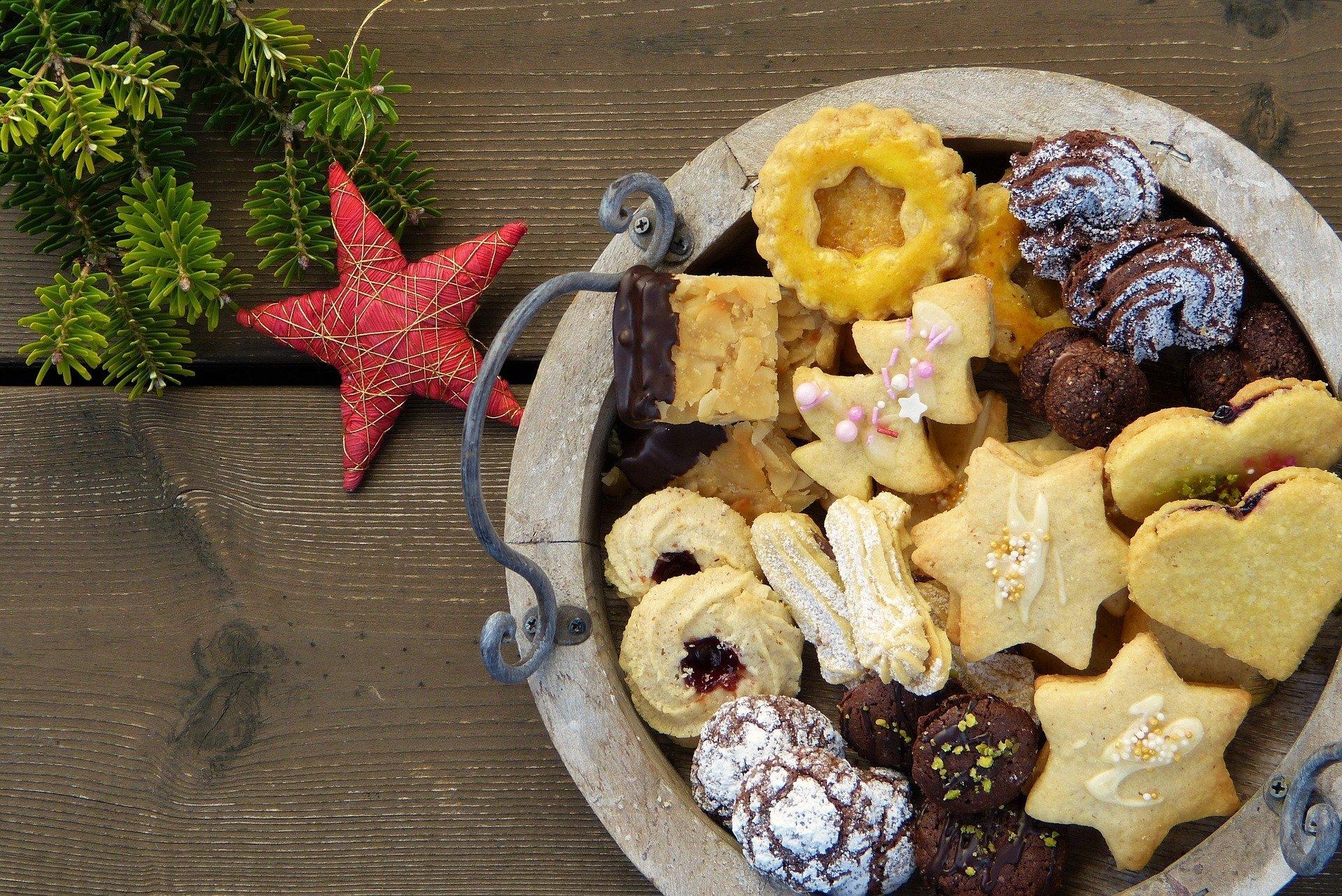 In der Weihnachtsbäckerei mit Unverträglichkeiten